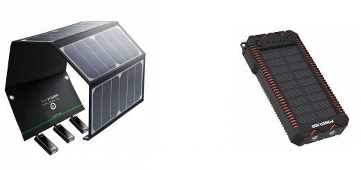 meilleurs chargeurs solaires portables Top 10 panneaux solaires portables classement et comparatif randonnée