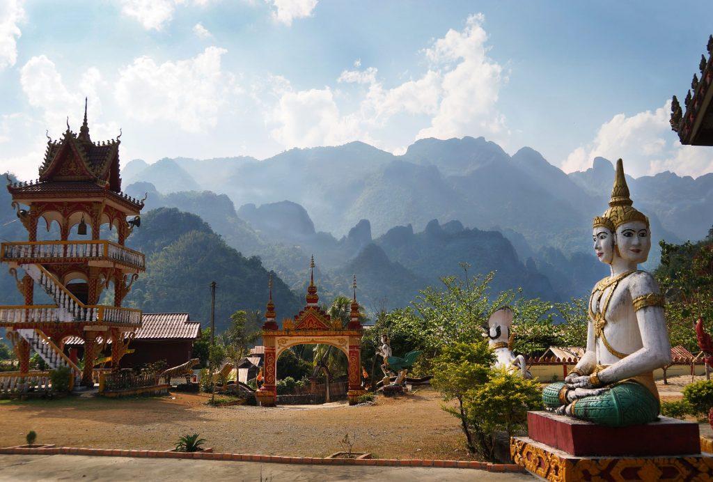 Vang Vien un des meilleurs endroits à visiter au Laos