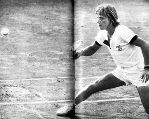 BjornBorg l'un des meilleurs joueurs de tennis de l'histoire