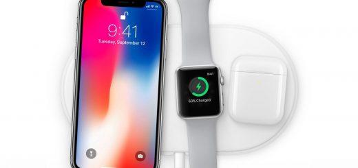 Chargeur sans fil iPhone accessoires montre connectée airpods
