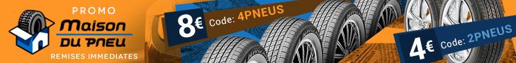 maisondupneu maison du pneu pneus pas cher banniere