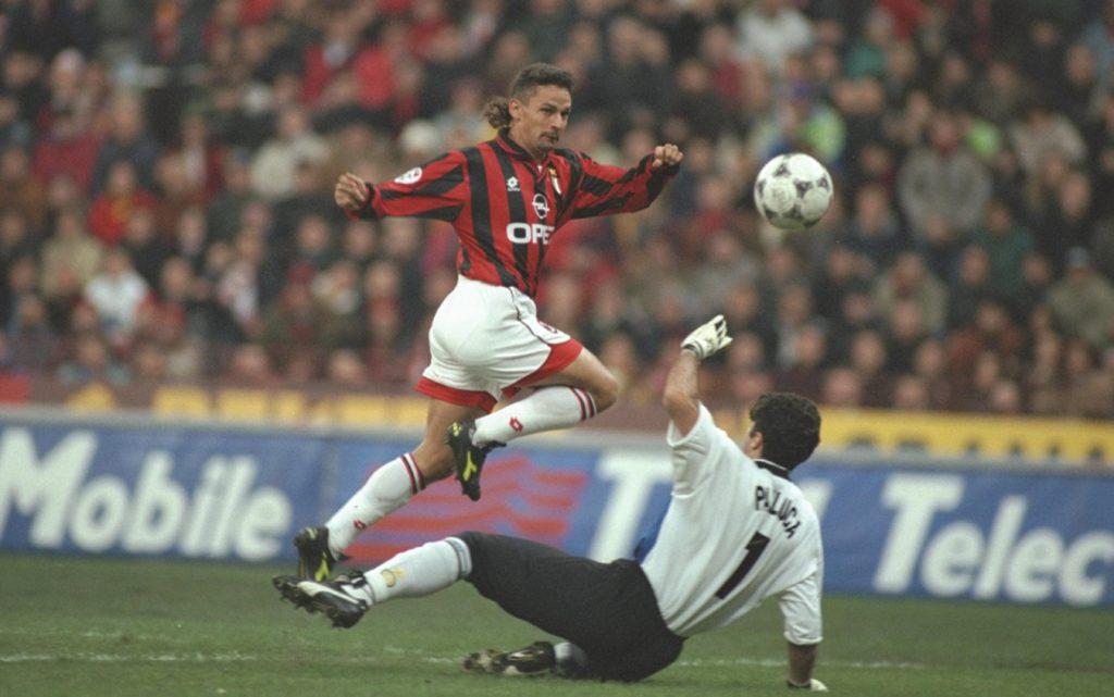 Baggio milan l'un des meilleurs joueurs italiens de l'hitoire