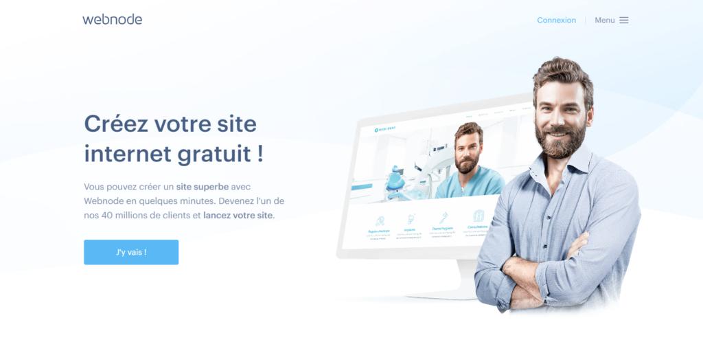 Créer un site internet avec Webnode