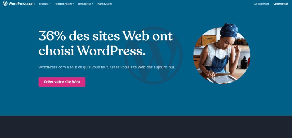 Créer un site internet avec WordPress.com
