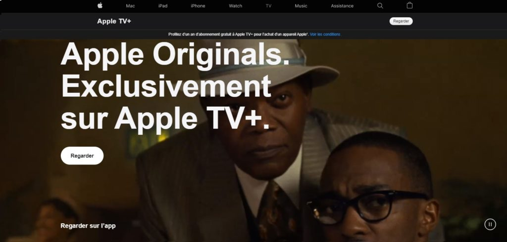 Apple TV+ le site de streaming en concurrent de Netflix