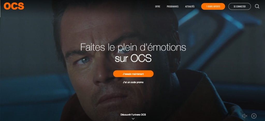 OCS le site de streaming en alternative à Netflix