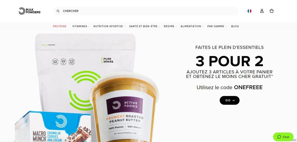 Une des meilleures boutiques en ligne de nutrition sportive