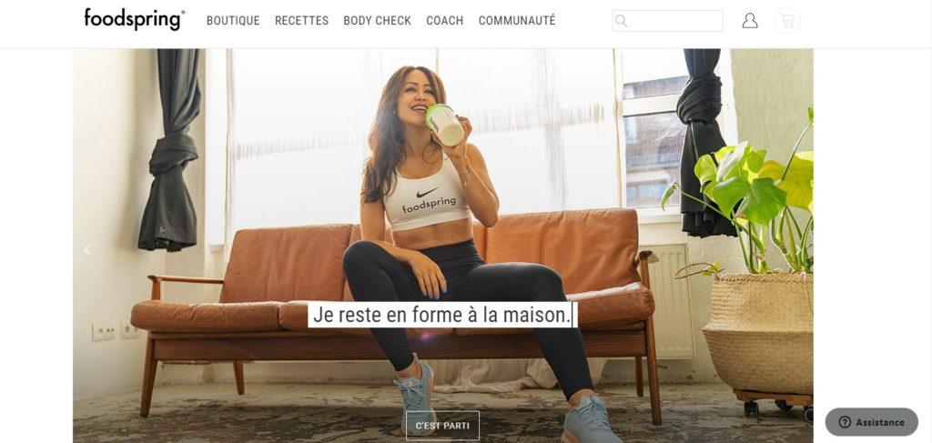 Les meilleures boutique en ligne de nutrition sportive top 10