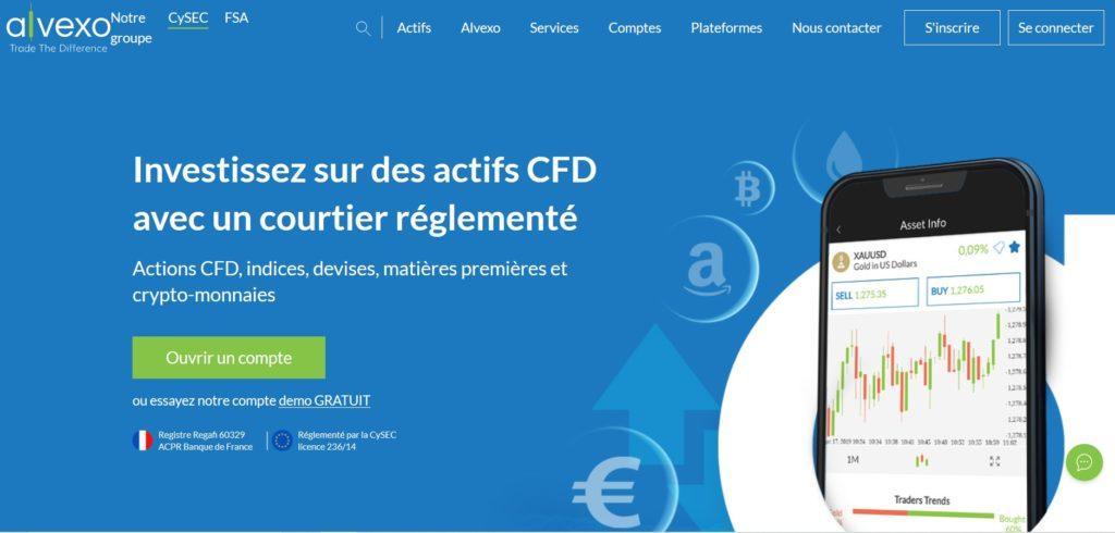 Alvexo fait partie des meilleurs sites pour acheter des actions sur internet