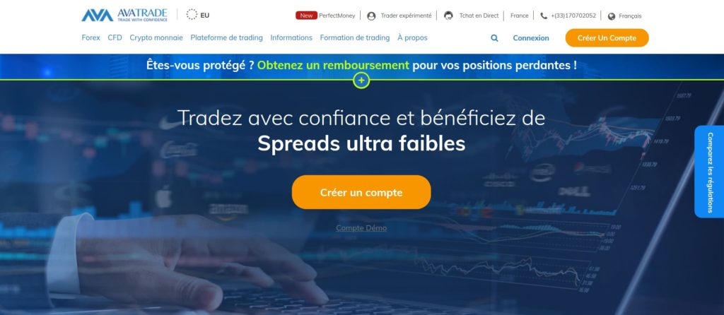 AvaTrade fait partie des meilleurs sites pour acheter des actions sur internet