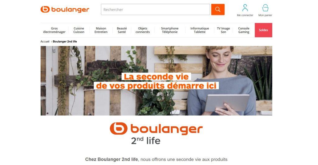 Boulanger fait partie des meilleurs sites de produits reconditionnés et TV reconditionnés