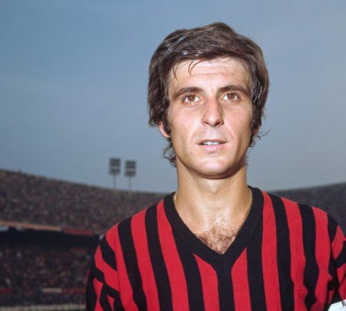 Gianni Rivera Italie l'un des meilleurs joueurs italiens de tous les temps