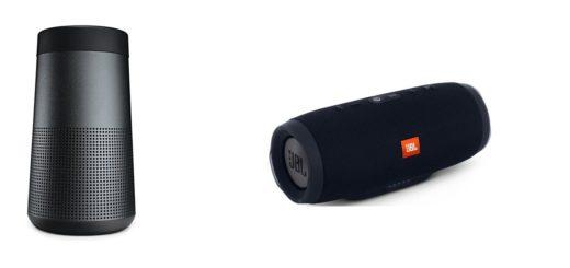 Enceinte bluetooth JBL charge 3 Bose Soundlink revolve