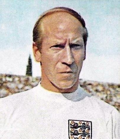 Bobby Charlton fait partie des meilleurs milieux offensifs de l'histoire du football