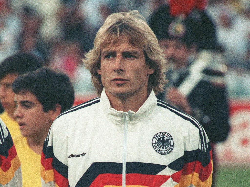 Jurgen Klinsmann l'un des meilleurs joueurs allemands de l'histoire du Football