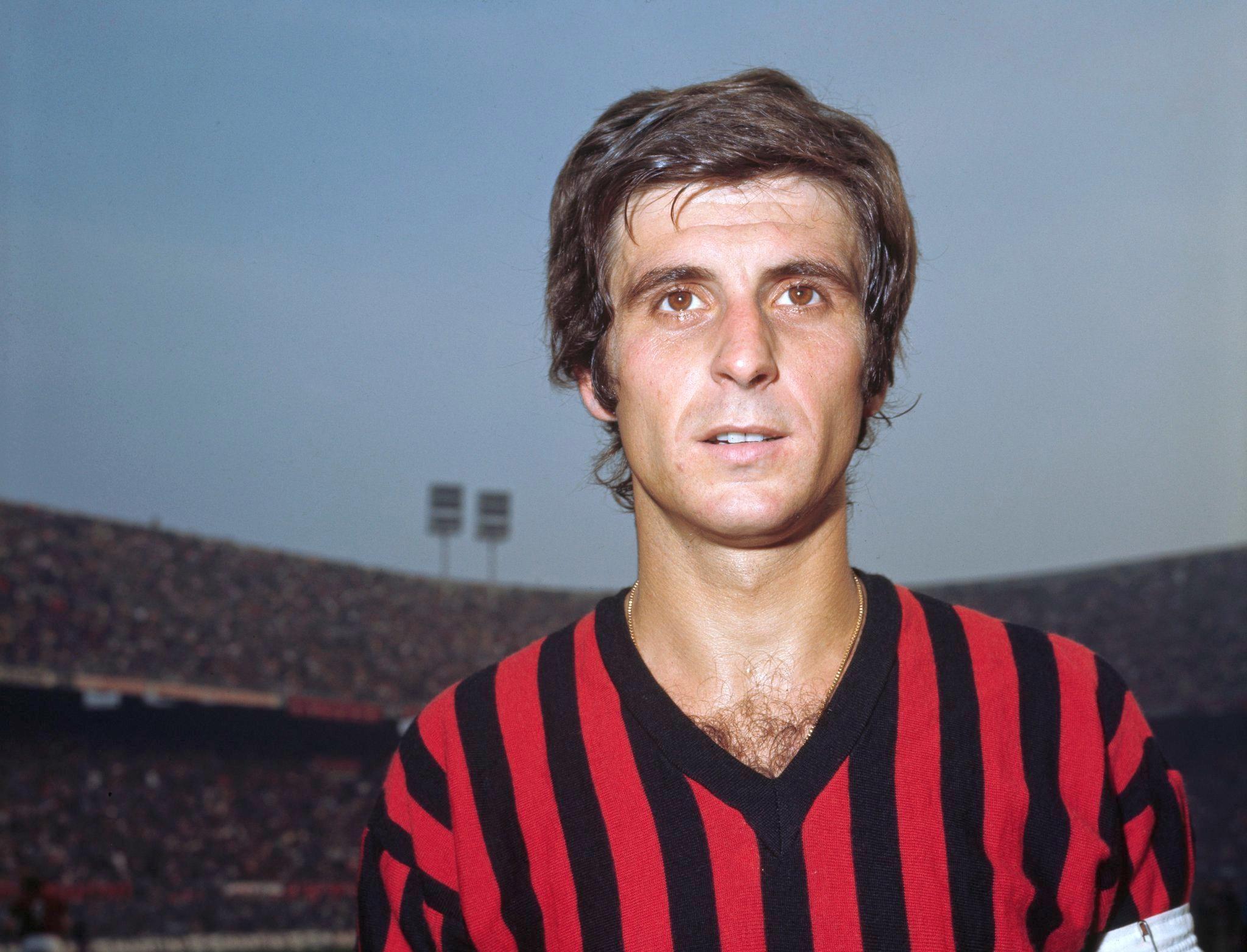 Gianni Rivera Italie l'un des meilleurs joueurs italiens de tous les temps foot