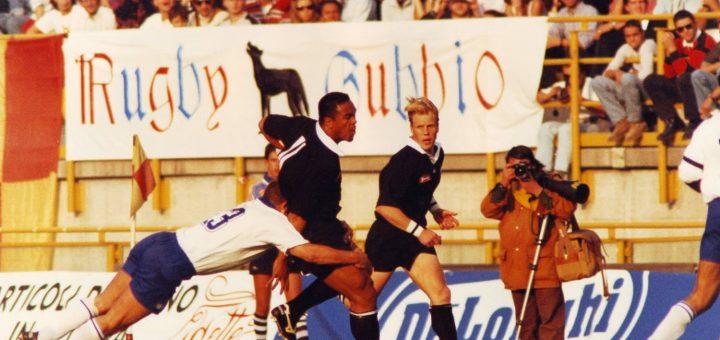Jonah Lomu l'un des meilleurs joueurs de rugby du monde