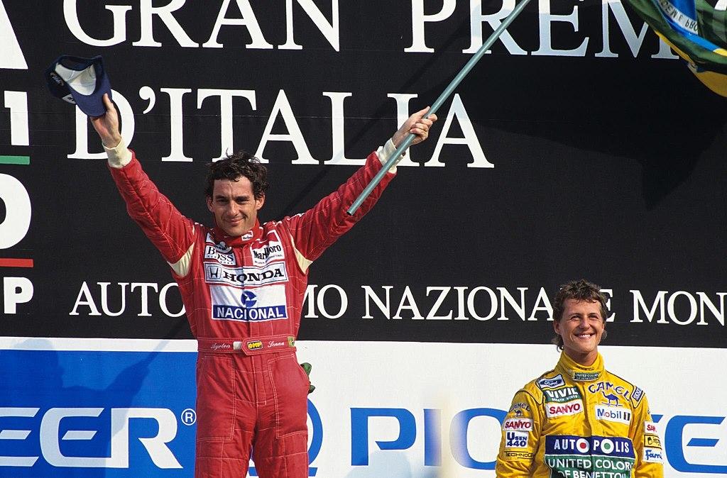 Ayrton Senna, l'un des meilleurs pilotes de formule 1 des tous les temps F1