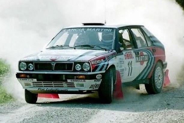 Auriol Lancia Delta meilleurs pilotes de rallye