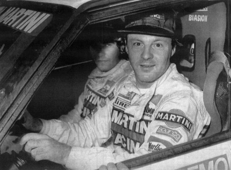 Biasion un des meilleurs pilotes de rallye du monde
