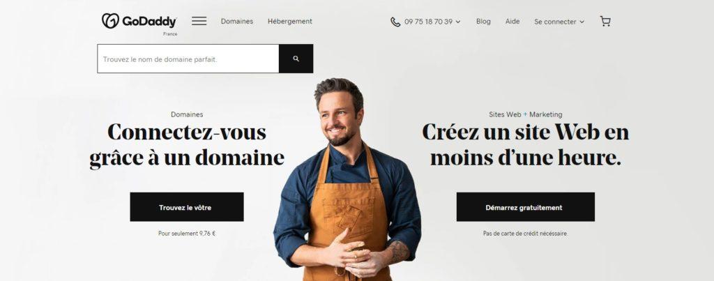 Créer un site internet avec GoDaddy