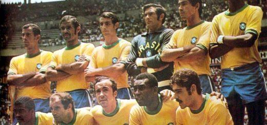 Brésil 1970 les meilleurs joueurs brésiliens de l'histoire