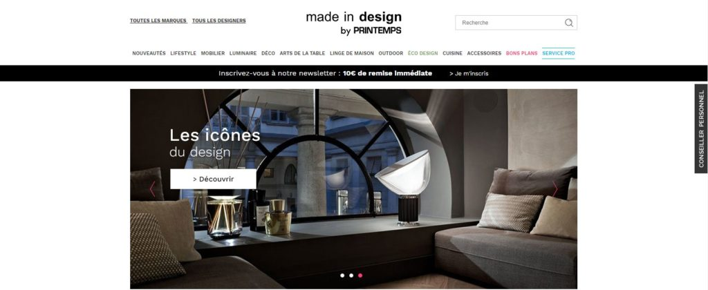 Made in Design fait partie des meilleurs sites de décoration d'intérieur
