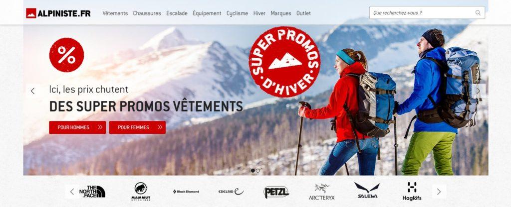 Alpiniste fait partie des meilleurs magasins de sport en ligne