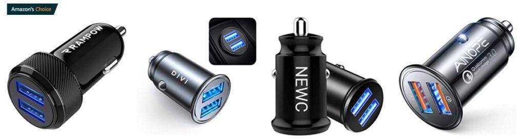 Le chargeur USB fait partie des accessoires indispensables pour votre voiture