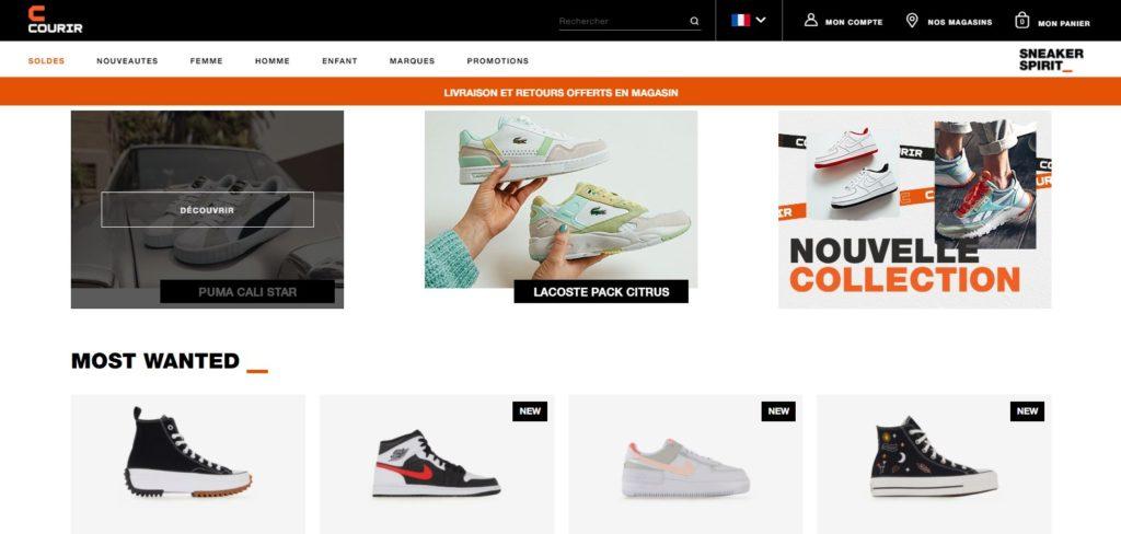 Courir fait partie des meilleurs magasins de sport en ligne
