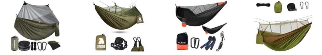 Le hamac avec moustiquaire fait partie des meilleurs accessoires de randonnée