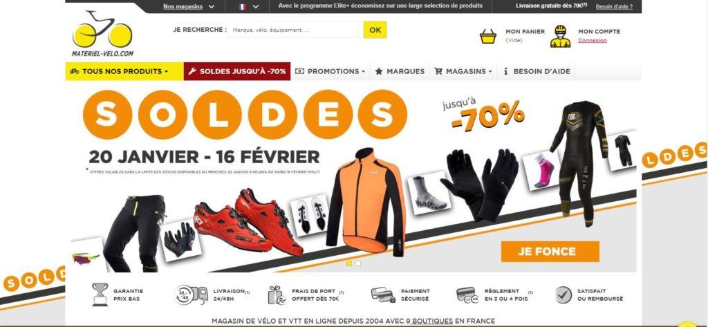 Materiel Velo fait partie des meilleurs magasins de sport en ligne