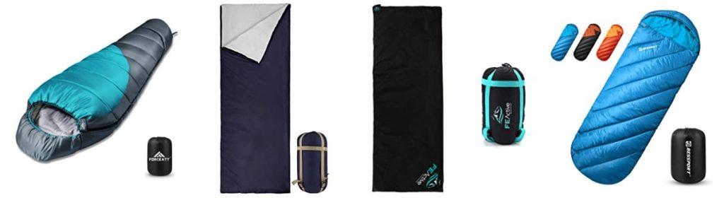 Le sac de couchage fait partie des meilleurs accessoires pour la randonnée
