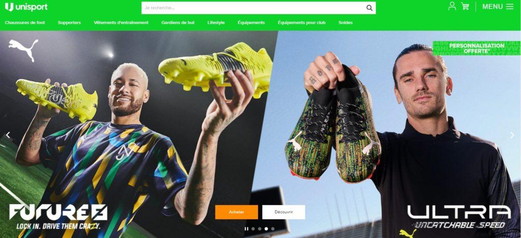 Unisport fait partie des meilleurs magasins de sport en ligne