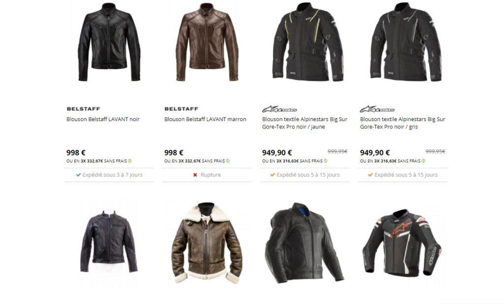 Les vestes et blousons font partie des meilleurs équipements indispensables pour motards