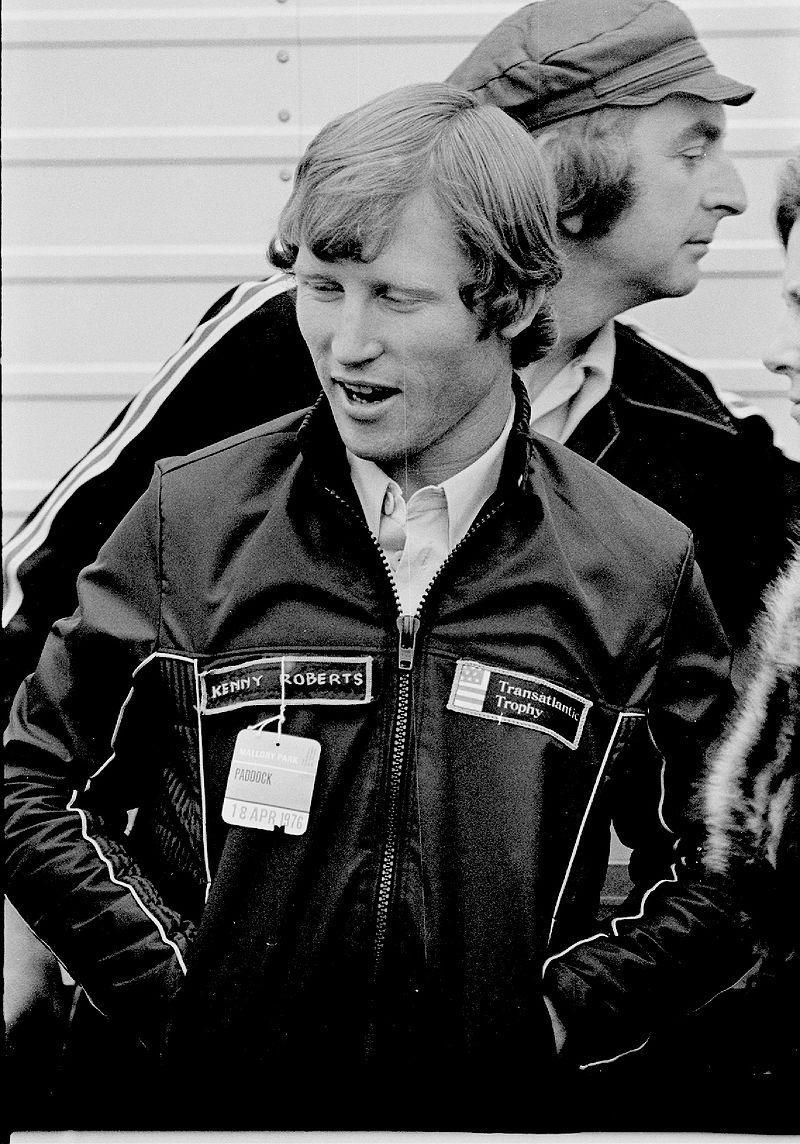 Kenny Roberts fait partie des meilleurs pilotes de moto GP de l'histoire