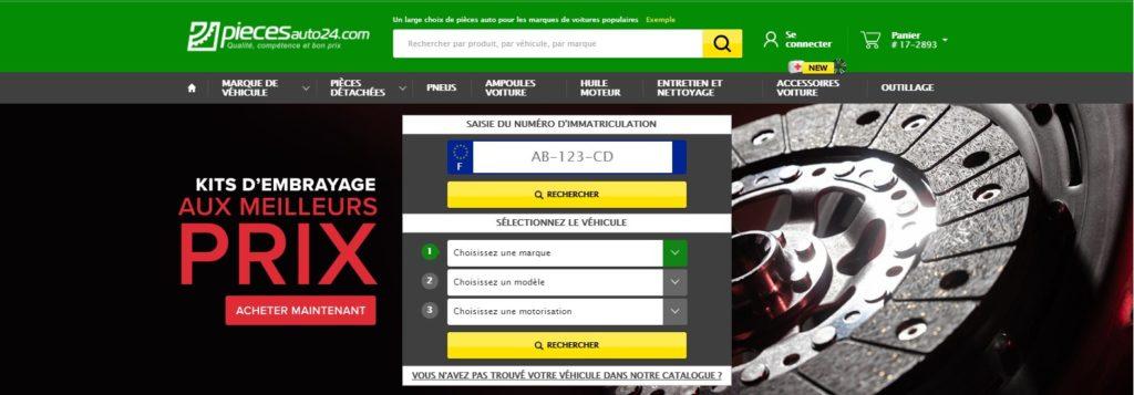 PiecesAuto24 est l'un des meilleurs sites de ventes en ligne spécialisé dans les pièces détachées pour automobile