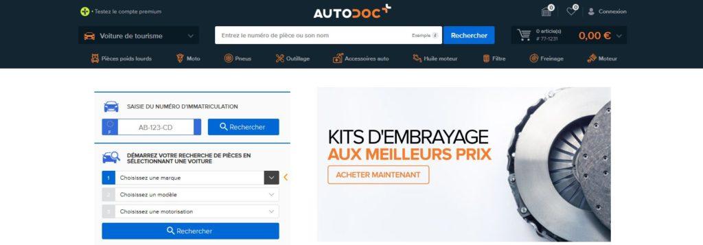 Autodoc fait partie des meilleurs sites de pièces auto et pièces détachées