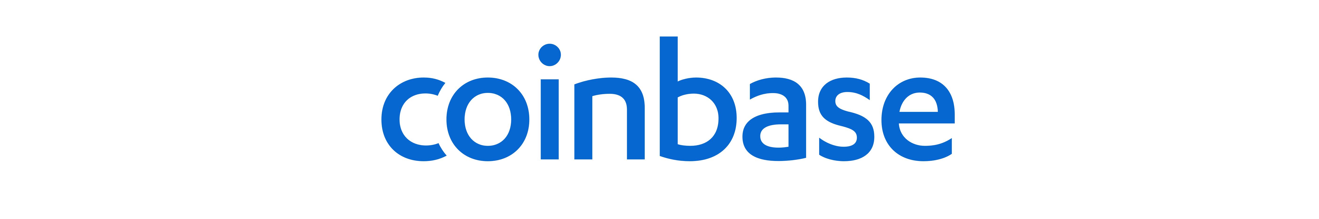 coinbase logo exchange