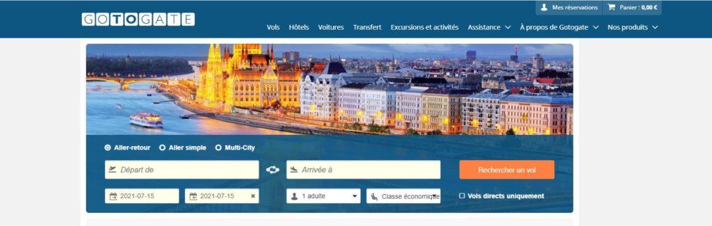 GotoGate fait partie des meilleurs comparateurs de vols en ligne