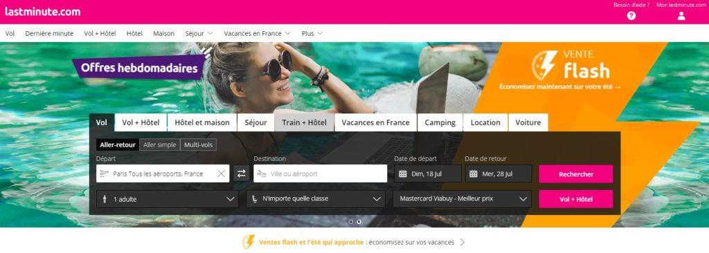 Lastminute fait partie des meilleurs comparateurs de vols en ligne