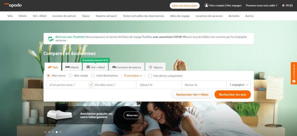 Opodo fait partie des meilleurs comparateurs de vols en ligne