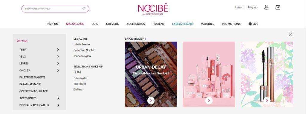Meilleurs sites pour acheter du maquillage :