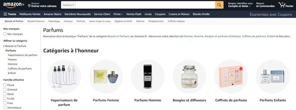 Amazon parfums
