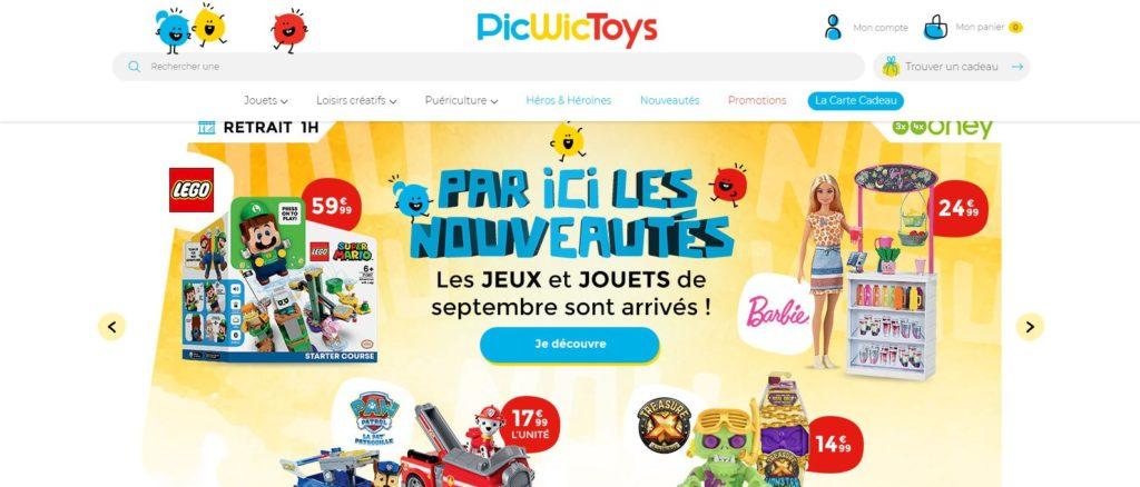Meilleurs magasins de jouets en ligne : PicWicToys