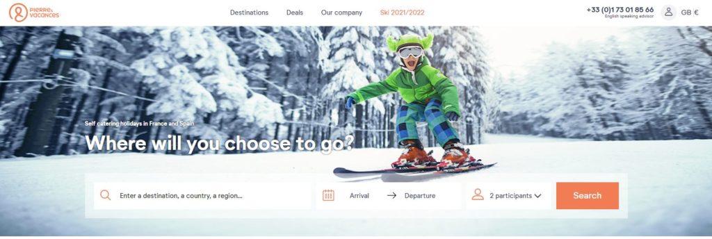 Pierre et vacances ski