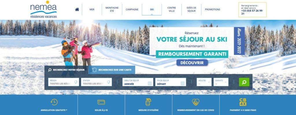 Résidence Néméa Ski