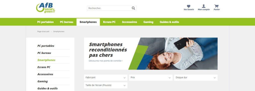 AfB Shop fait partie des meilleurs sites pour acheter un smartphone en ligne