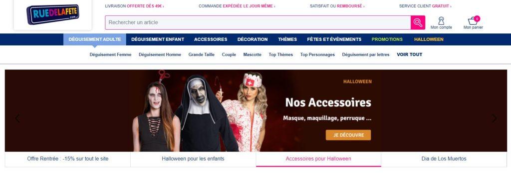 Meilleurs sites de déguisements : Rue de la Fête